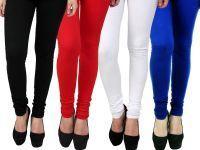 Buy Brandtrendz Assorted Cotton Pack Of 4 Leggings-(code-leg040) online
