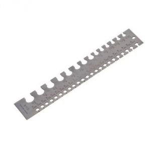 Buy engineers measuring tool 0 36 swg sheet wire gauge buy engineers measuring tool 0 36 swg sheet wire gauge stainless steel metr online best prices in india rediff shopping greentooth Image collections