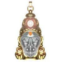 Buy Shiv Jyotishkendra Hanuman Chalisa Yantra With Gold Plated Chain online