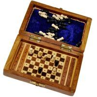 Buy Travellers Mini Chess Board Wooden Handicraft online