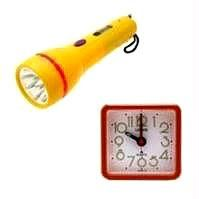 Buy Orpat Table Alarm Clock & LED Torch Combo Offer online