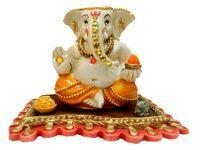 Buy Soopkarna Vakratundaya Ganpati Ganesh Idol online