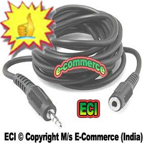 Buy Eci 5 Meters Long Stereo Audio Extension Cable 3.5mm Male And 3.5mm Female online