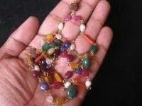 Buy Chakra Mala Navratan Mala Puja Mala Jap Mala Rosary Puja Accessories online