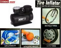 Buy Coido 6526 12v Electric Car Tyre Inflator Air Compressor online
