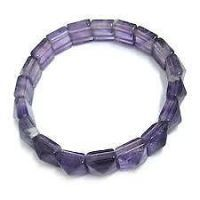 Buy Amethyst Pyramid Shaped Power Bracelet Amethyst Stone Bracelet Amethyst online