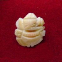 Buy Ganesha Carved On Natural Gomti Chakra online