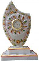 Buy Parvidvap Handicrafts Marble Trophy With Clock online
