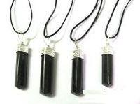 Buy Black Tourmaline Pendant (crystal Healing) Pyramids Fengshui Vastu online