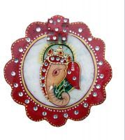 Buy Flower Ganesh Marble Chopra online