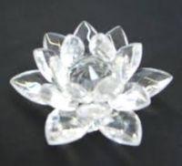 Buy Crystal Lotus (big) Lotus Fengshui Lotus Flower Feng Shui Vastu Kamal online