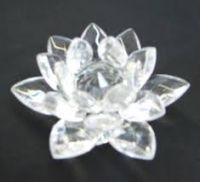 Buy Crystal Lotus (medium) Lotus Fengshui Lotus Flower Feng Shui Vastu Kamal online