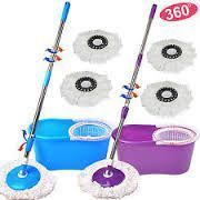 Buy Easy Spin Mop Magic Mop 360 Easy To Use 2 Mops online