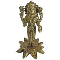Buy Laxmiji Brass Statue,religious God Idol For Pooja,statue For Temple online
