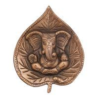 Buy Patta Ganesh Wall Decorative Antique Copper Finish online