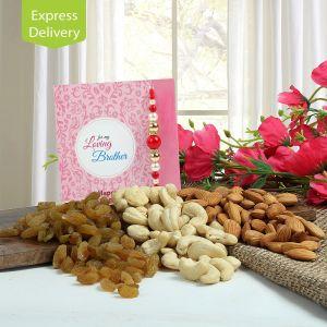 Buy Healthy Rakhi Combo online