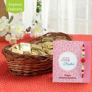 Buy Premium Chocolate Hamper-rakhi online