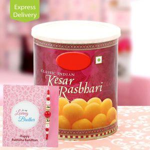 Buy Rasbhari With Rakhi online