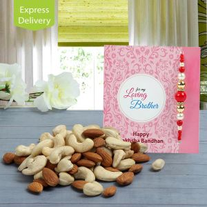 Buy Beads And Nuts-rakhi online