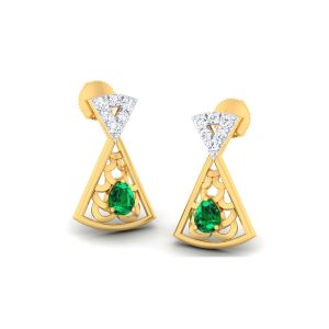 Buy Kiara Sterling Silver Anjali Earrings online