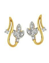 Buy Ag Real Diamond Ten Stone Earring online