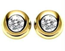 Buy Ag Real Diamond  Stone Fancy Earring online