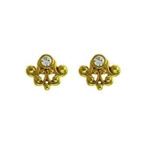 Buy Ag Real Diamond Traditional Shape Earrings online