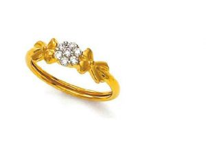 Buy Ag Real Diamond Pressure Set Beautiful Flower Shap online