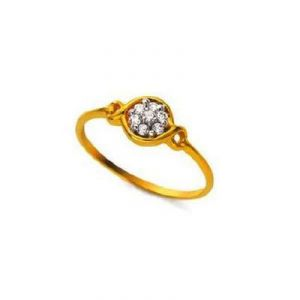 Buy CIRCULAR WITH DIAMOND RING online