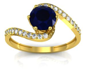 Buy Ag Real Diamond Pooja Ring Agger004y online