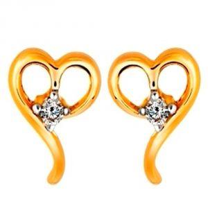 Buy Ag Real Diamond Kanyakumari Earring Agse0006a online