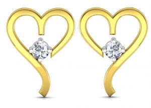 Buy Ag Real Diamond  Aaliya  Earring online