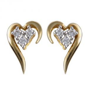 Buy Ag Real Diamond Jyoti Earring Agse0010a online