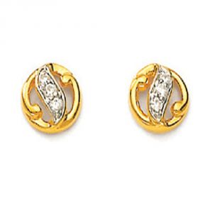 Buy Ag Real Diamond Sadhna Earring Agse0018a online