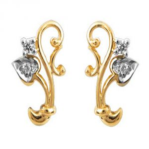 Buy Ag Real Diamond Divya Earring online