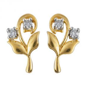 Buy Ag Real Diamond Panjab Earring online