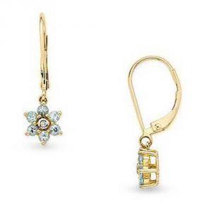 Buy Ag Real Diamond Stone Jammu Earring Agse0069a online