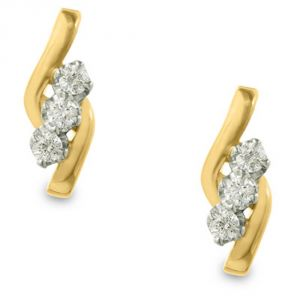 Buy Ag Real Diamond Preeti Earring online