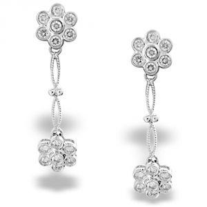 Buy Ag Real Diamond Ankita Earring Agse0084a online