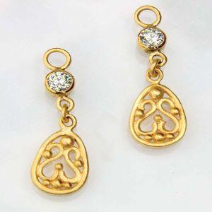 Buy Ag Real Diamond Sneha Earring online
