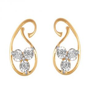 Buy Ag Real Diamond Aishawarya Earring online