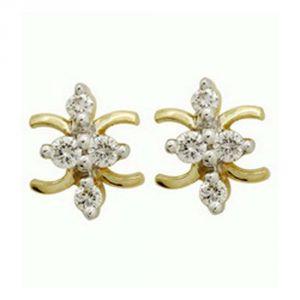 Buy Ag Real Diamond Shruti Earring Agse0106a online
