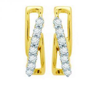 Buy Ag Real Diamond Sadhna Earring Agse0111a online