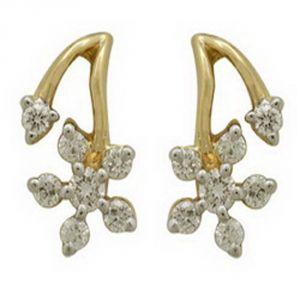 Buy Ag Real Diamond Sachi Earring Agse0115a online