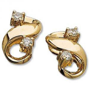 Buy Ag Real Diamond Kinjal Earring Agse0144a online