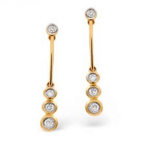 Buy Ag Real Diamond Shraddha Earring Agse0147a online