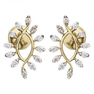 Buy Ag Real Diamond Maharashta Earring online