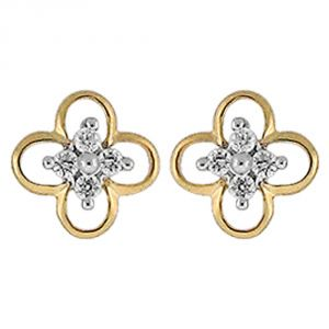 Buy Ag Real Diamond Nandini  Earring online