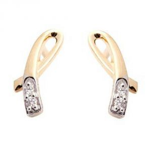 Buy Ag Real Diamond Vinita Earring online