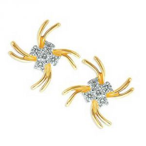 Buy Ag Real Diamond Sadhana Earring Agse0173a online